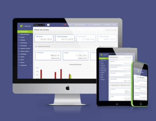Keyandcloud, el mejor programa de contabilidad para autónomos y emprendedores . descarga ya