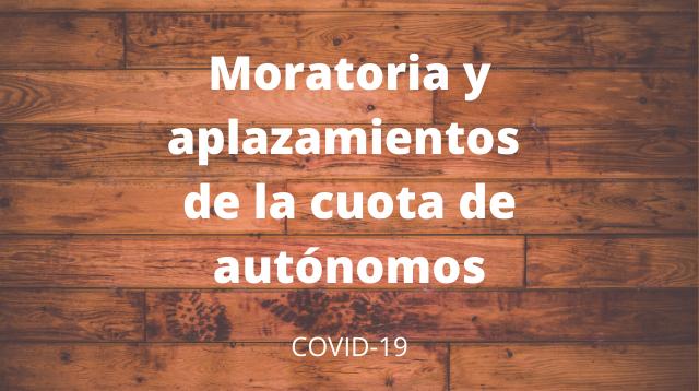 moratoria cuota autónomo | Parautonomos